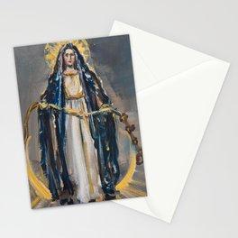 Mary Undoer of Knots Stationery Cards