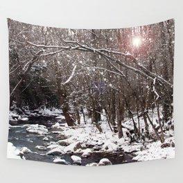 Winter Creek Wall Tapestry