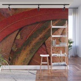 Eucalyptus Tree Leaves Wall Mural