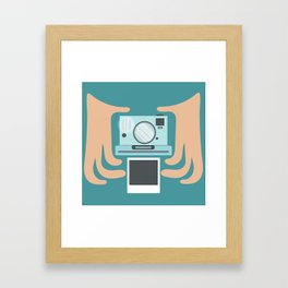 Oh, Snap! Framed Art Print