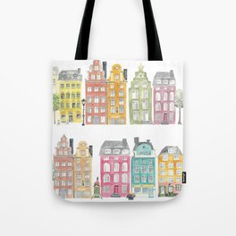 Stockholm houses Tote Bag