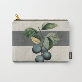 botanical stripes - plums Carry-All Pouch
