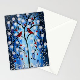 Winter Tress Stationery Cards