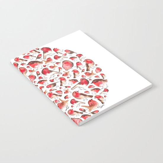 Christmas Robins Notebook