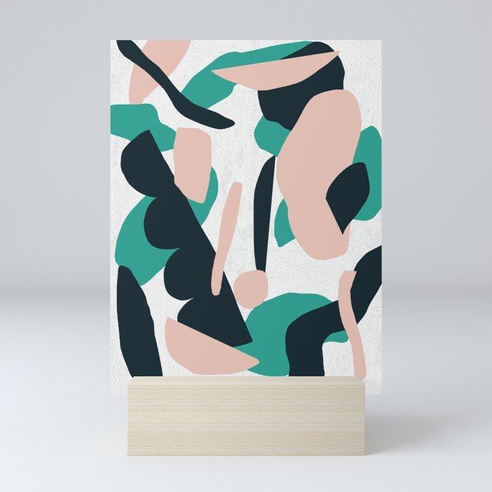 green fields 2 Mini Art Print