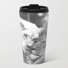 Lion in Love Metal Travel Mug