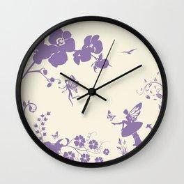 Fairy Circle Wall Clock