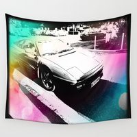car Wall Tapestries featuring Car by Drexler3