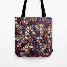 Fractal Gems 01 - Fall Vibrant Tote Bag