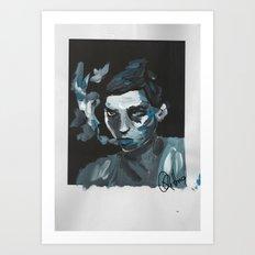 Jean Art Print