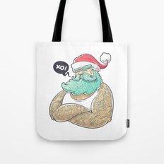 Hipsta Claus Tote Bag
