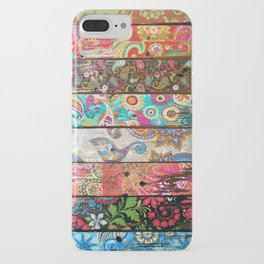Paisley Planks iPhone Case