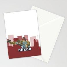 Gaze Into the Face of Dredd Stationery Cards