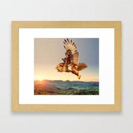 Hawlion Framed Art Print