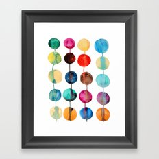 Planets Framed Art Print