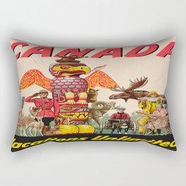 Vintage poster - Canada Rectangular Pillow