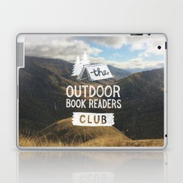 The Outdoor Book Readers Club Laptop & iPad Skin