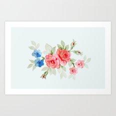 Flowers - Painting Style Art Print