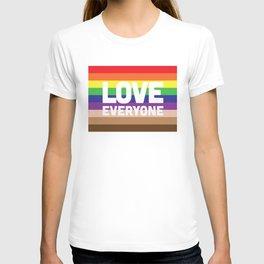 Love Everyone Flag T-shirt