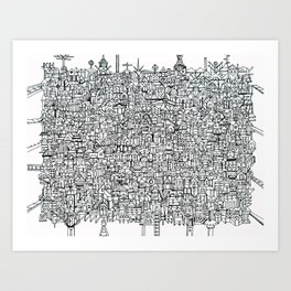 You Are Here #10 Art Print