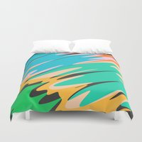 kids Duvet Covers featuring Kids by Celery Woulise