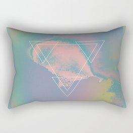 Etna River 1983 Rectangular Pillow