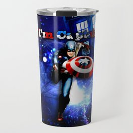 Tardis of Captain Travel Mug