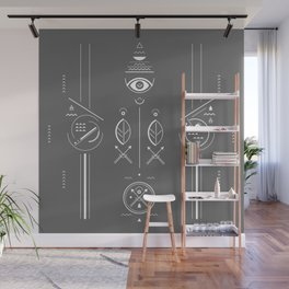 Mystical signs  Wall Mural