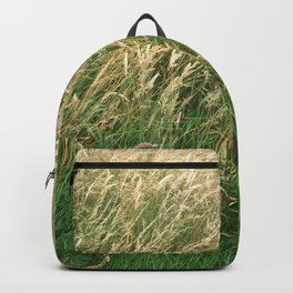 Buried In Grass Backpack
