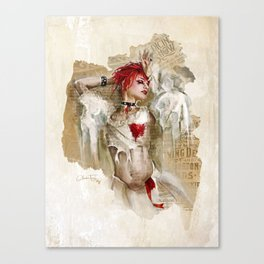 Emilie Autumn | Artwork Canvas Print