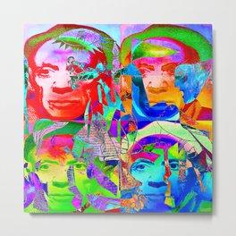 Pop Picasso Metal Print