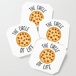 The Circle Of Life Funny Quote Coaster