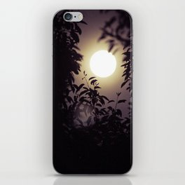 Super Moon I iPhone Skin