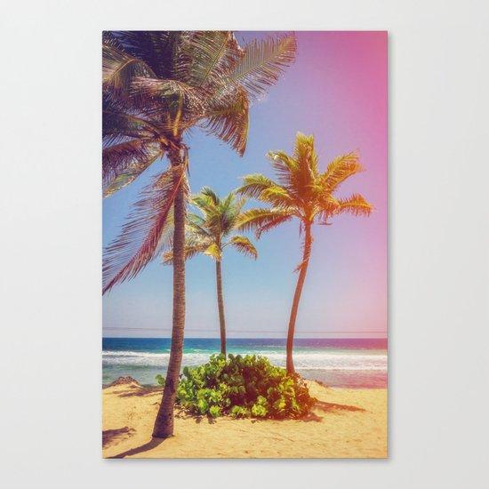 Tropical Breezes Canvas Print