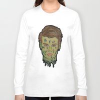 johnny depp Long Sleeve T-shirts featuring Johnny Depp by Montana