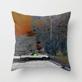 """Dreaming el Camino"" Throw Pillow"