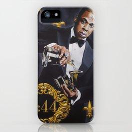 Jay-Z Black Opulence iPhone Case