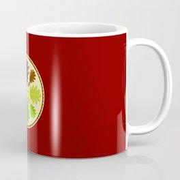 Mighty Oak Folk Art Hex Sign Coffee Mug