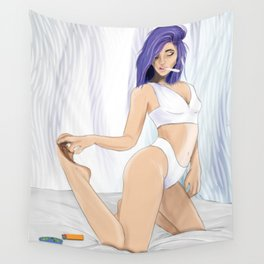 Lingerie Roll Up Wall Tapestry