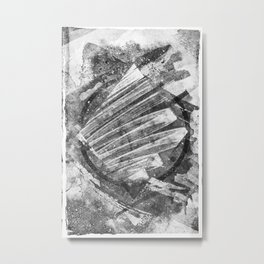 Black & White II Metal Print