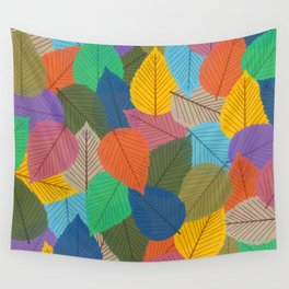 Leaves, Leaves, Leaves - Autumn is Coming - 57 Montgomery Ave Wall Tapestry