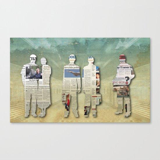 Platform 5 Canvas Print
