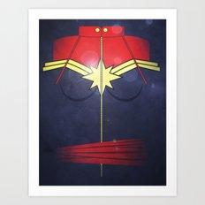 Call me Captain  Art Print