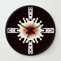 gift card Wall Clocks featuring A Gift for You by barefoot art online