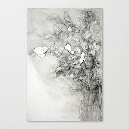 Vase of Iris Canvas Print