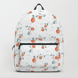 Watercolor Oranges Backpack
