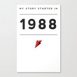 My Story Series (1988) Canvas Print