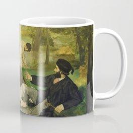Edouard Manet - Luncheon on the Grass - Digital Remastered Edition Coffee Mug