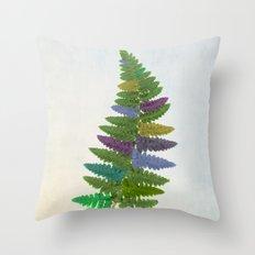 Kaleidofern Throw Pillow