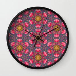 Beautiful mandala pattern. Wall Clock